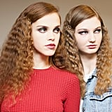 Crimped, Voluminous Hair at Libertine