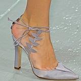 Ankle-Strap Pumps: Zac Posen Spring 2014