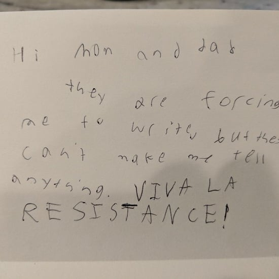 Girl Sends Funny Note Home From Camp