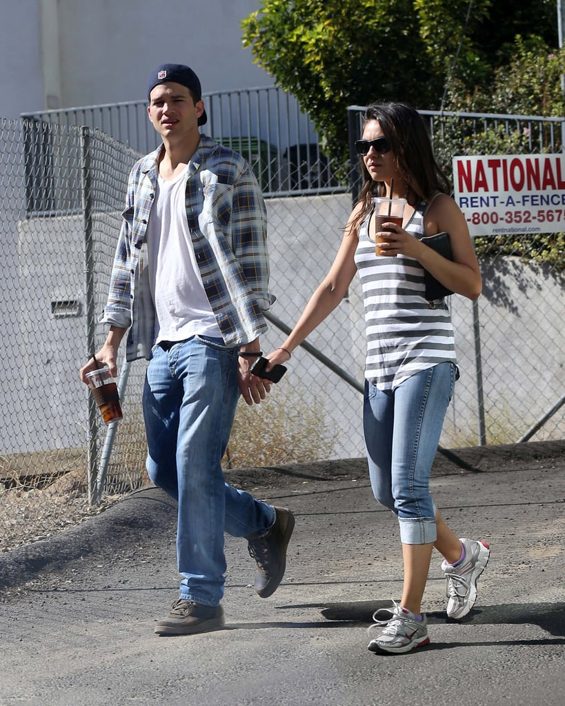 They were hand in hand for a walk around LA in October 2012.
