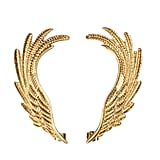 Fascinated by ear cuffs? Try the trend without a major investment, thanks to the brand's feathered pair ($6).