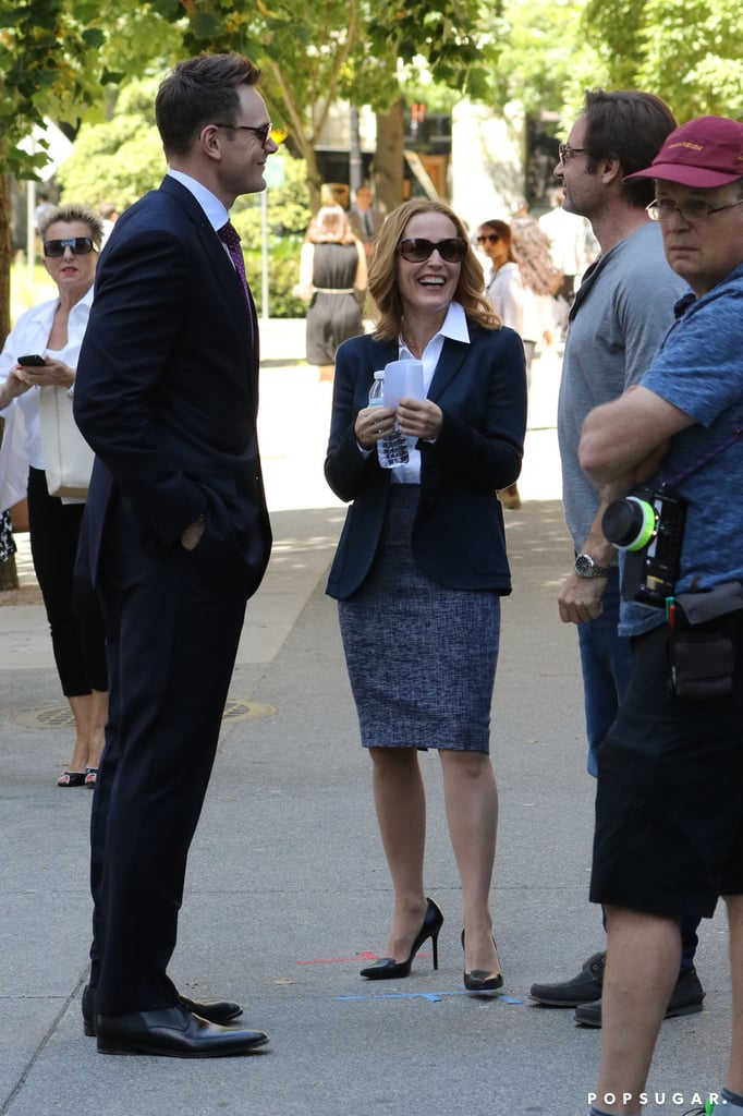 It's a lovely day to film the X-Files revival    The X-Files