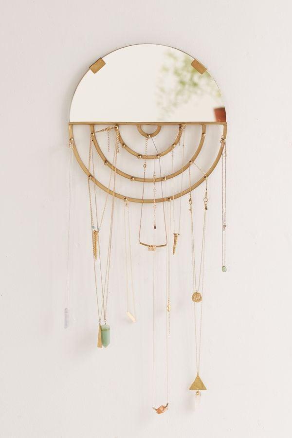 Aimee Jewelry Storage Hanging Mirror