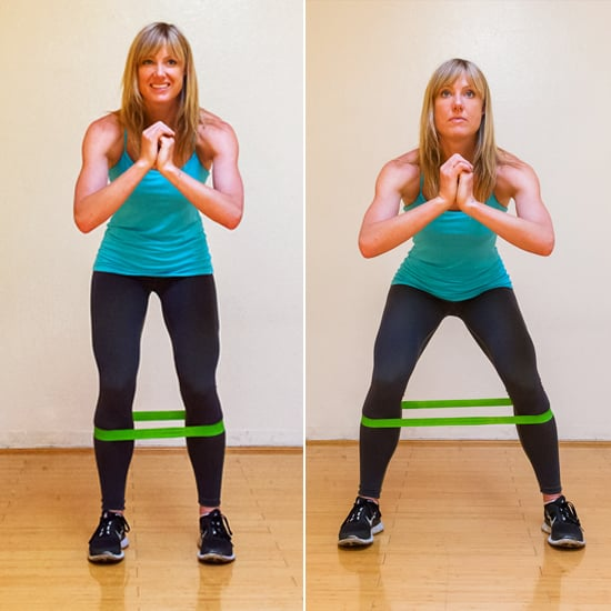 IT Band: Squat Walks With Resistance Band