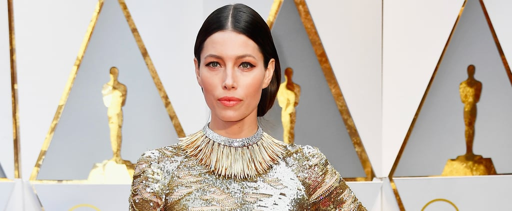 Can You Handle All the Sparkle on Jessica Biel's Oscars Gown?