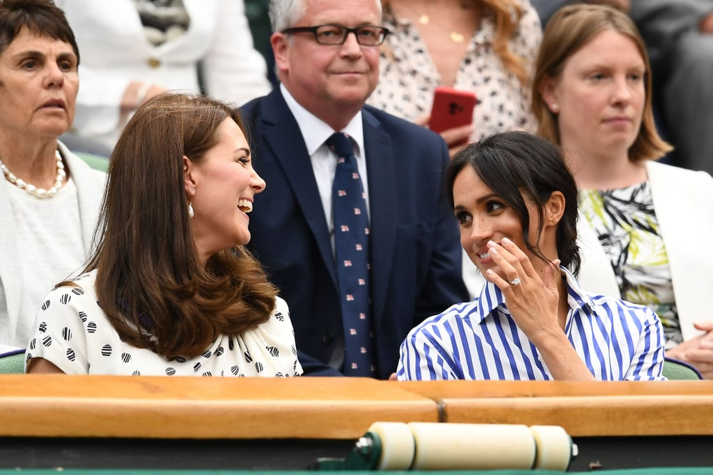 Kate and Meghan Show Off Their Close Bond at Wimbledon