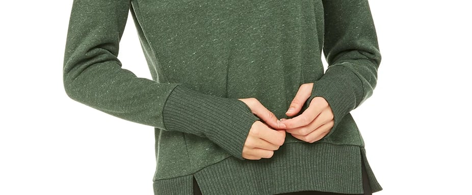 Tops With Thumbholes to Keep Your Hands Warm While Typing