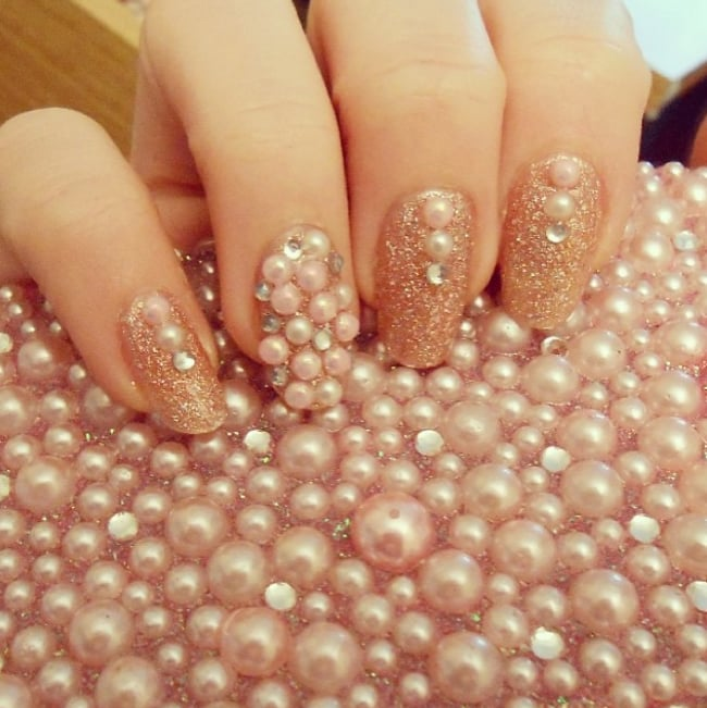 Pearl Nail Art | POPSUGAR Beauty
