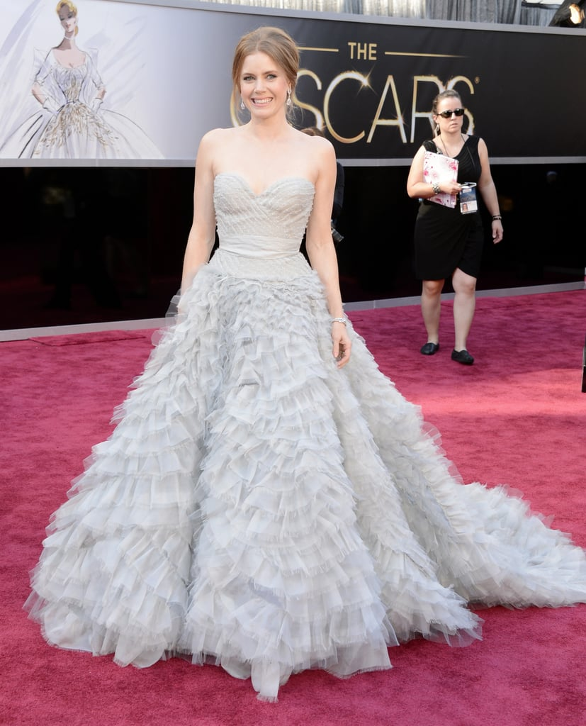 Amy Adams at the Oscars 2013 Pictures | POPSUGAR Celebrity
