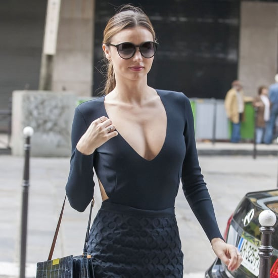 Miranda Kerr Paris Outfits 2013