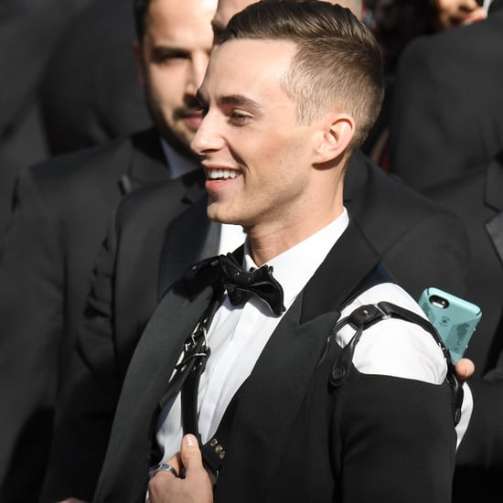Adam Rippon and Shawn Mendes at the 2018 Oscars