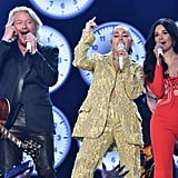 Phillip Sweet of Little Big Town, Miley Cyrus, and Kacey Musgraves