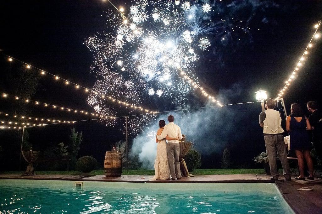 Weddings Make a Bang With Fireworks