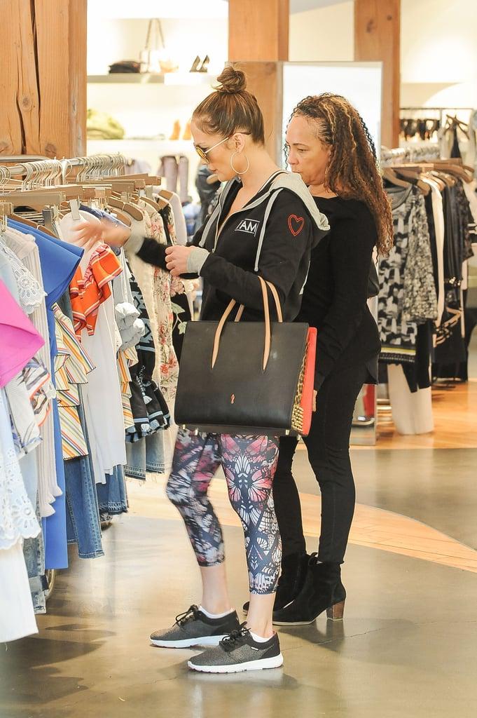Williams Auto Sales >> Jennifer Lopez's Printed Workout Leggings January 2017 ...