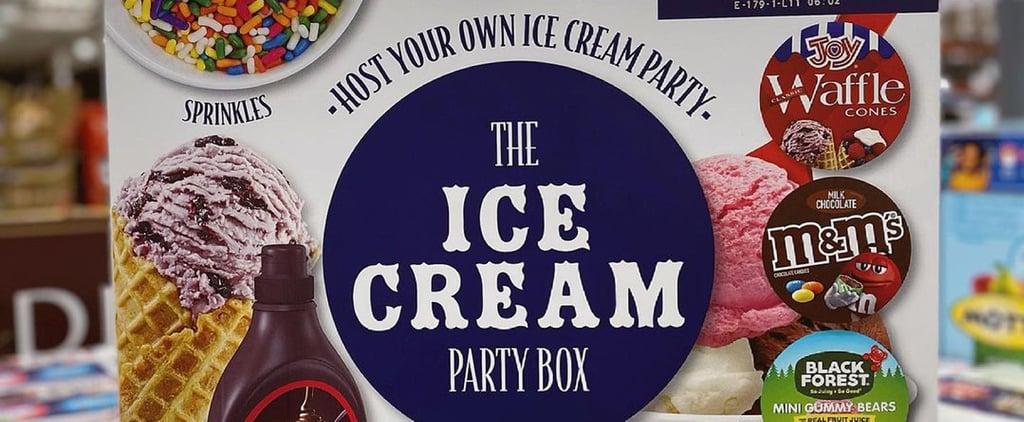 Shop Costco's Ice Cream Party Box!