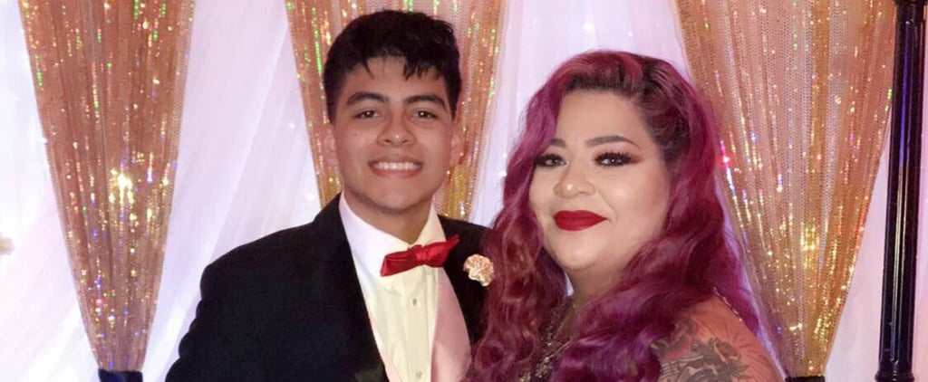 Teen Takes His Mom to Prom