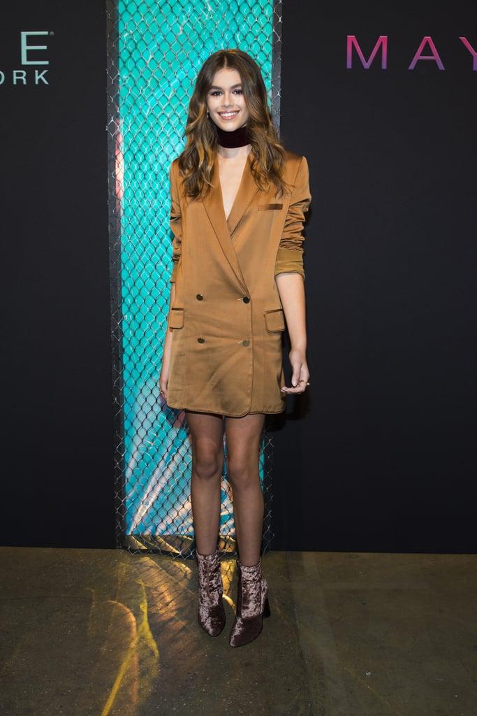 Kaia Gerber's Dress at the Daily Front Row Awards 2016
