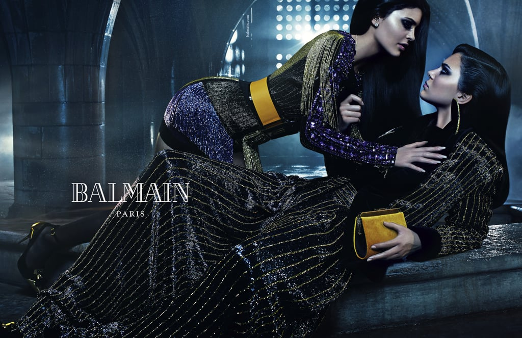 Kendall and Kylie Share the Spotlight in Balmain's New Campaign