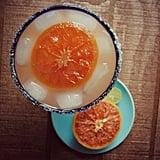 Broiled Grapefruit Margarita