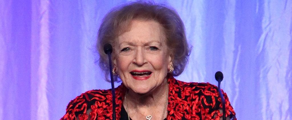 Betty White Is Celebrating Her 99th Birthday