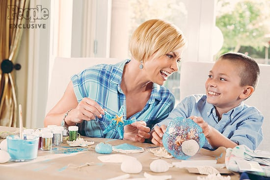 Jaime Pressly's Perfect Art Project for Son Dezi Involves 'the Mess, the Hot-Glue Gun and the Goofiness!'