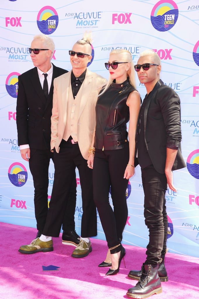 Gwen Stefani Hits the TCAs to Show Off No Doubt's New Music