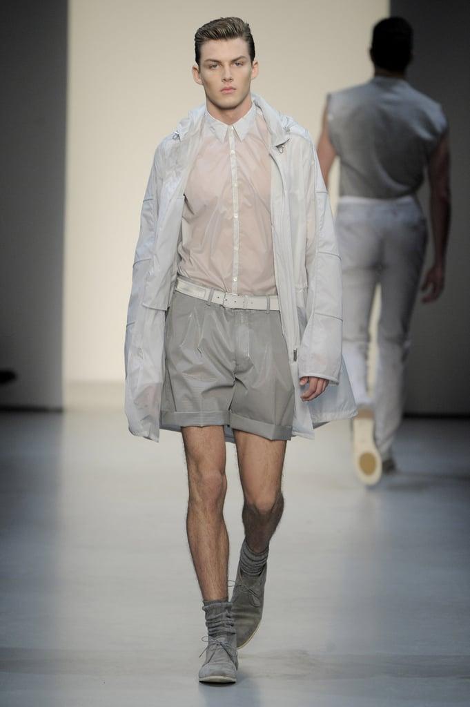 Milan: Calvin Klein Men's Spring 2010