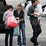 Ben Affleck and Jennifer Garner Get Out of Town With Their Girls