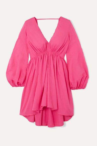 Kalita Aphrodite Cotton-Voile Mini Dress