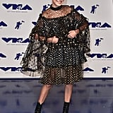 Millie Bobby Brown at the MTV Video Music Awards in 2017