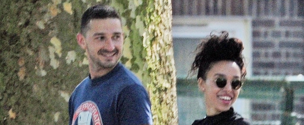 Shia LaBeouf and FKA Twigs Out in LA September 2018