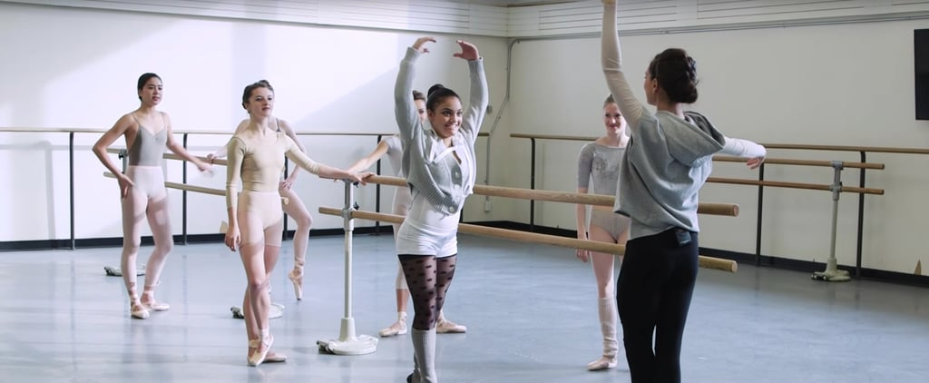 Laurie Hernandez Learning a Dance From The Nutcracker Will Give You All the Christmas Cheer