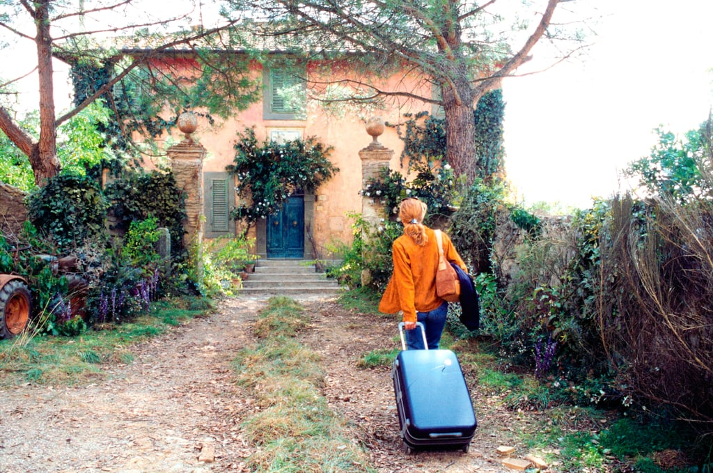 Looking to reinvent your life by running away to Tuscany and buying a dilapidated villa on the spot? Well, even if you're searching for something a touch more low-key, you can live out that fantasy by staying in the real-life villa at the centre of 2003's Under the Tuscan Sun. The house has since undergone a discernible renovation — presumably not done by Diane Lane — and it is currently available for rent through Luxury Retreats. Located in Cortona, Italy, the stunning Villa Laura, named Villa Bramasole in the movie, features ten bedrooms, lush gardens, a wine cellar, and a pool. Then, of course, there are those countryside views that are enough to make you consider uprooting your life and moving to Italy. With enough room to host 20 guests, however, Villa Laura is not entirely wallet-friendly, as the nightly rate ranges from $2,385 to $4,090, depending on the season. If Under the Tuscan Sun is still your go-to pick-me-up flick, or you have a Pinterest board dedicated to your dream Italian getaway, then maybe it's time to round up some friends and head to Villa Laura. At least it'll already be nice and renovated when you get there, right?       Related:                                                                                                           You Can Stay in the Real-Life House From Steel Magnolias, So Grab Your Girlfriends!