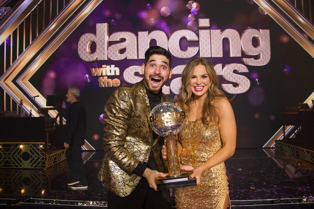 Another season of Dancing With the Stars has come to an end. The competition has been incredibly fierce these past few weeks, but the series officially crowned its season 28 winner on Monday night. After a fun-filled finale, Hannah Brown and her partner Alan Bersten took home the Mirrorball Trophy. The couple beat out Kel Mitchell and his partner Witney Carson for the top spot in the competition. The former Bachelorette contestant has certainly been a fan-favorite all season long. In addition to loving Brown's moves and show-stopping performances, viewers have also become obsessed with her sweet friendship with Bersten. See more pictures of Brown and Bersten from the finale ahead.