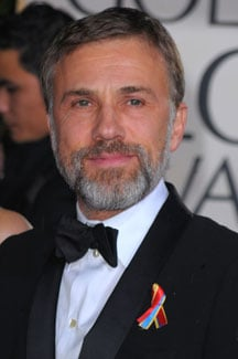 Christoph Waltz is the Winner of the 2010 Golden Globe For Best Supporting Actor