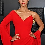 Janina Gavankar at the 2020 Grammys