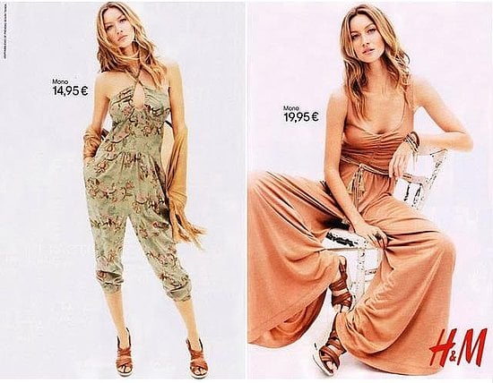 Photos of Gisele Bundchen for H&M Spring 2011