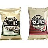 McClure's Garlic Dill Pickle and Spicy Pickle Potato Chips