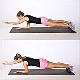 Circuit 2, Exercise 3: Elbow Plank With Reach