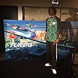Snoop Lion did press for the animated film Turbo in Barcelona. Source: Instagram user snoopdogg