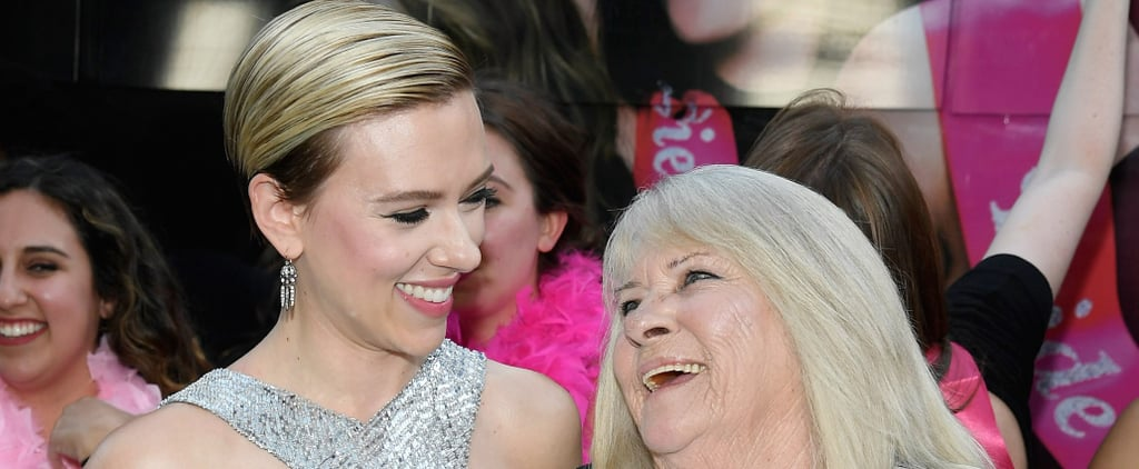 Scarlett Johansson Keeps Her Promise, Parties With Look-Alike Grandma