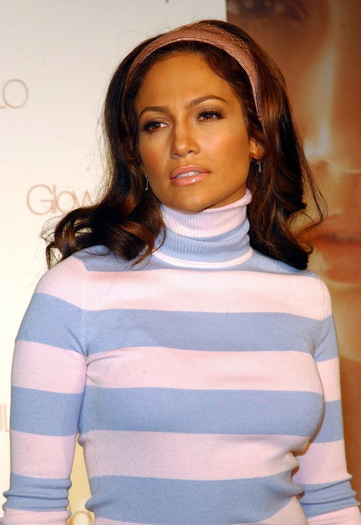Jennifer Lopez's Pink Headband in 2004