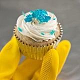 "Some ""baby blue"" sprinkles"
