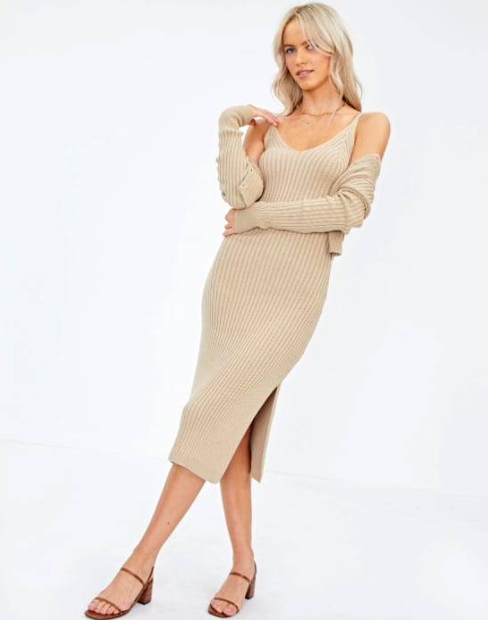 Glassons Ribbed Knit Dress ($49.99)