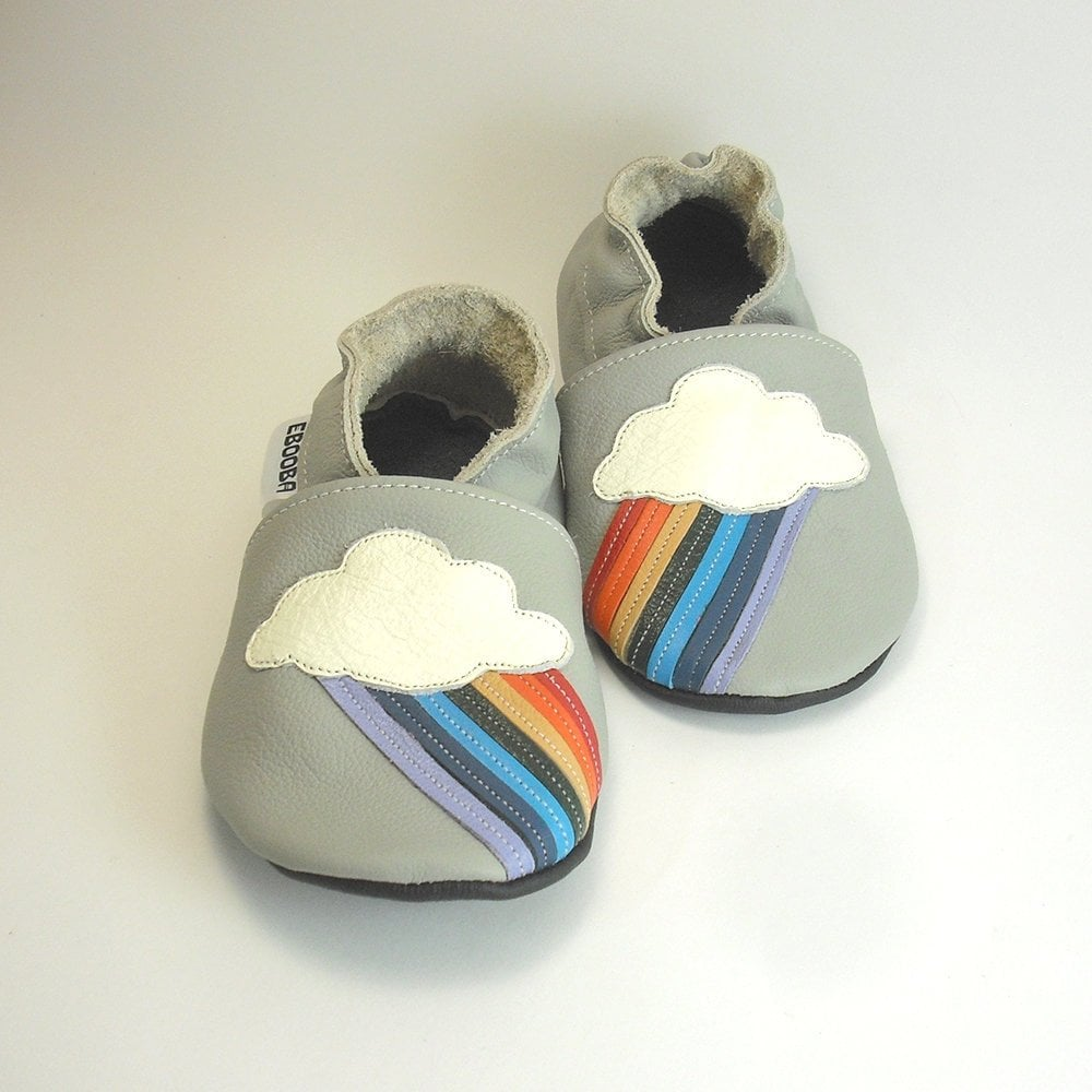 Rainbow Soft Sole Booties