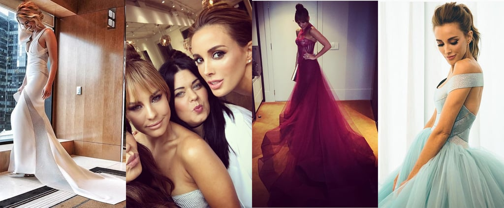 Celebrity Instagram Pictures From the Logies 2016
