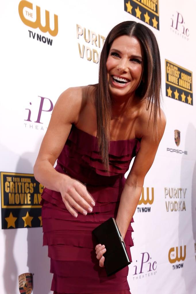 Sandra Bullock Breaking Down in Giggles
