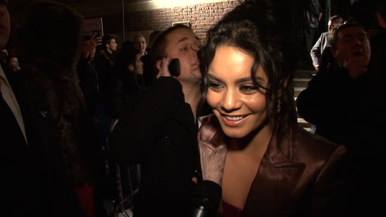 High School Musical Star Vanessa Hudgens Outside the Marc Jacobs NYFW Show