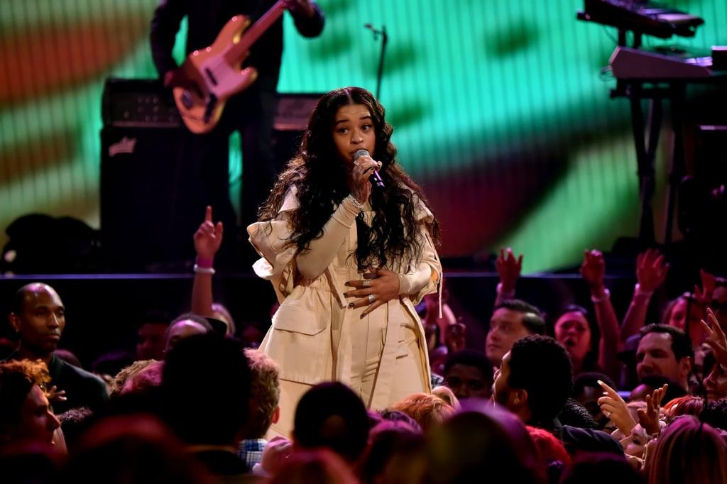 Ella Mai 2018 American Music Awards Performance Video Popsugar