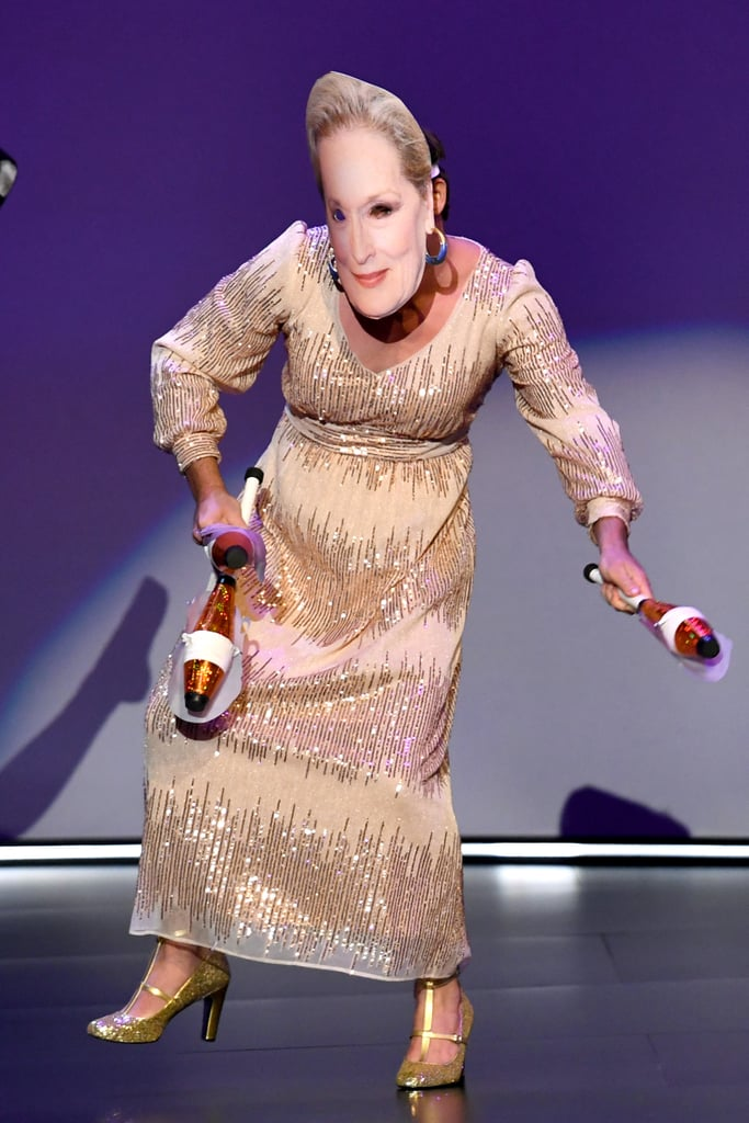 Pictures of the Meryl Streep Impersonator at the 2019 Emmys